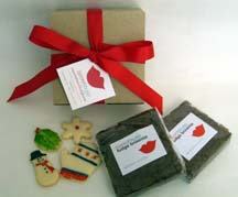 Brownie Buddy Gift Box with Cookie Charms